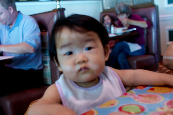 2009.08.18 - Mom's b-day & Leah