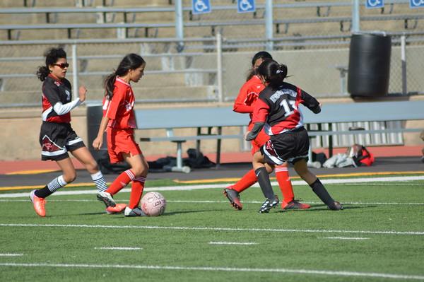 Girls B-Team Soccer vs Vernon 2020
