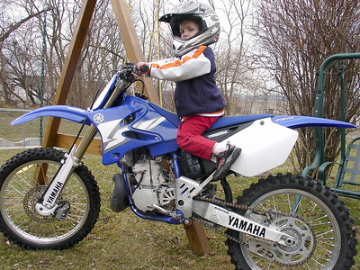 Dylan on the YZ