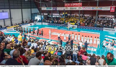 «Monini Spoleto - BCC Castellana Grotte» Gara 2 Finale Promozione #A2Mvolley