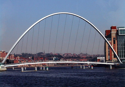 Milleniam Foot Bridge over the Tyne