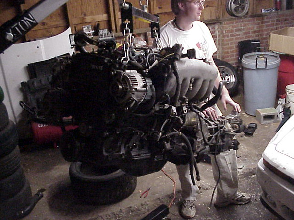 Look, it's an engine and tranny