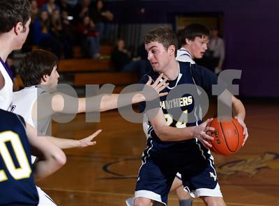2013-2014 Coudersport Holiday Tournament Northern Potter Boys Basketball vs. Coudersport