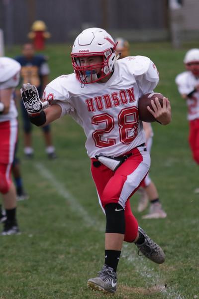 Hudson High JV Football V. Quaban