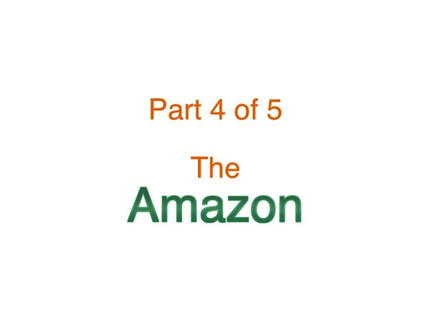 This video is about SA - Pt 4 of 5 - Amazon