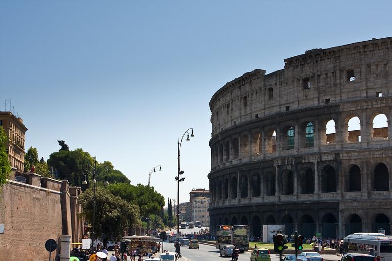 My Touristy Coliseum Shot