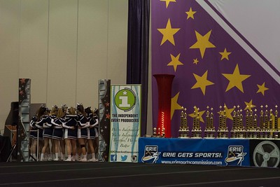 Erie Cheer Competition 12-03-2016