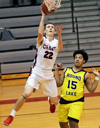 20180124 - LCJ Grant over Round Lake Beach 84-40 in Boys basketball  (hrb)