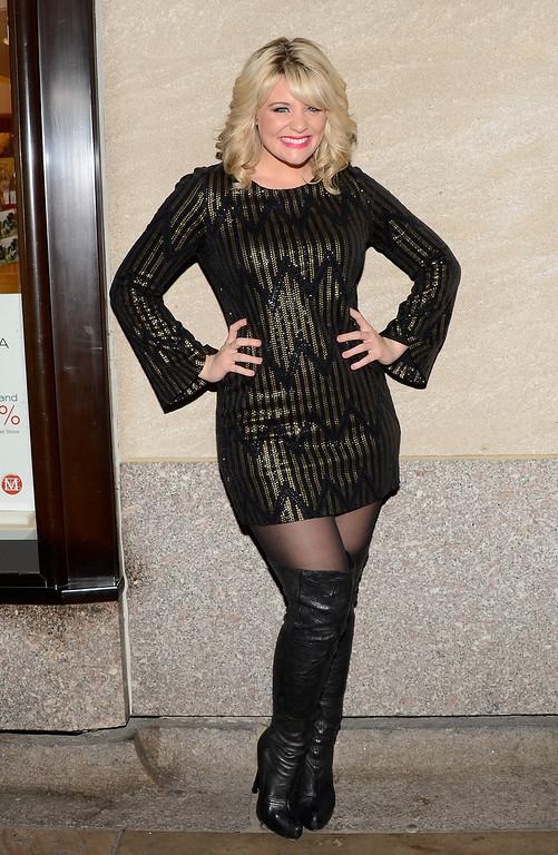 . Singer Lauren Alaina attends the 81st annual Rockefeller Center Christmas tree lighting ceremony on Wednesday, Dec. 4, 2013 in New York. (Photo by Evan Agostini/Invision/AP)