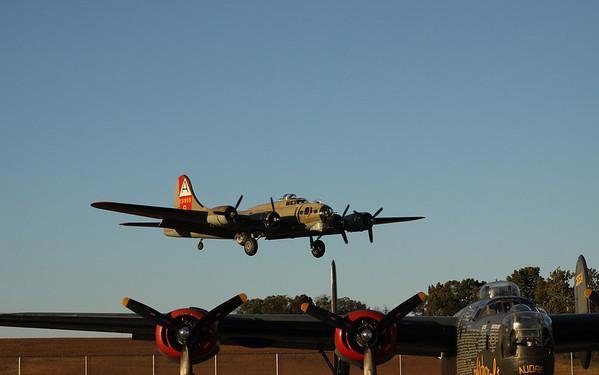 B-24- B-17 P-51- 10-10-12  -Thomasville Airport