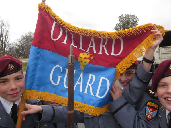Dillard Guard in Appomattox Parade