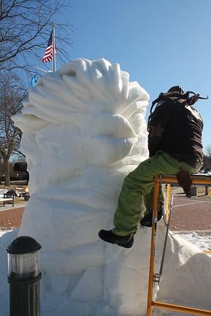 Snow Sculptures 2018
