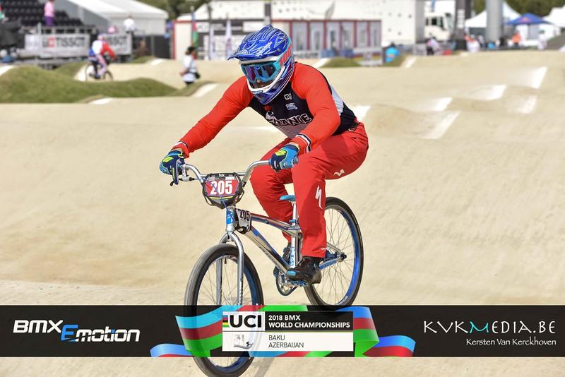 UCI BMX WC BAKU - Cruisers