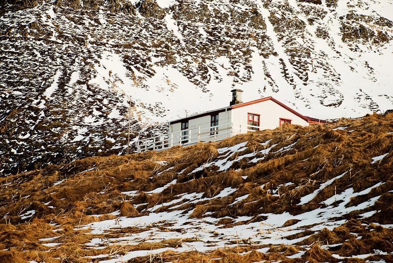 Hornvík - Horn. Stígshús 2013