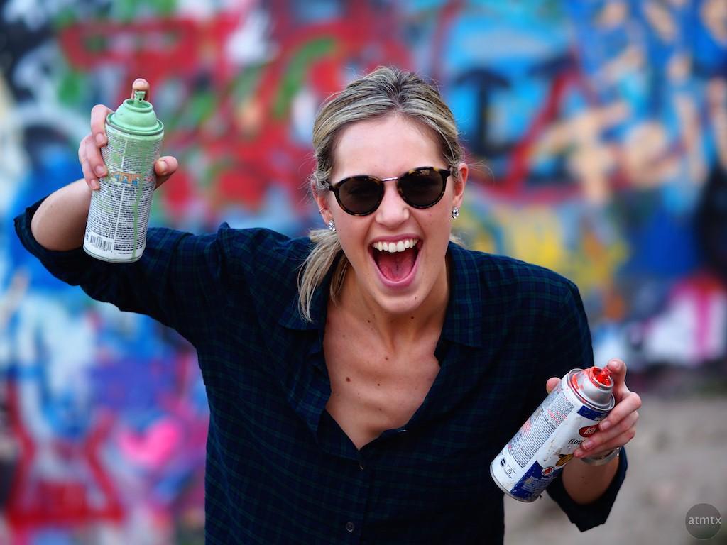 Emily, Graffiti Park - Austin, Texas