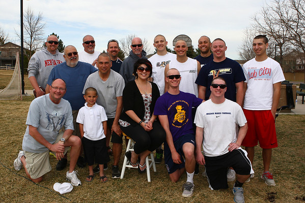 2012 St Pete Head Shaving Event 03/25/12