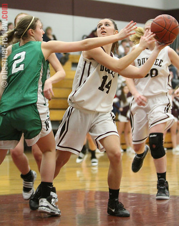 Dundee Girls Basketball 2-7-13