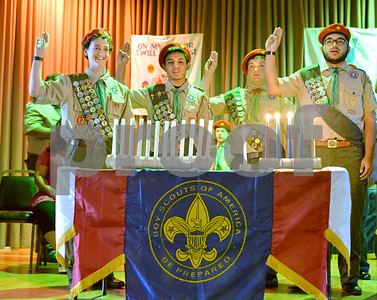 Boy Scout Troop 301 in Berwyn hosted an Eagle Court of Honor as its 100th through 103rd scouts become Eagle Scouts.