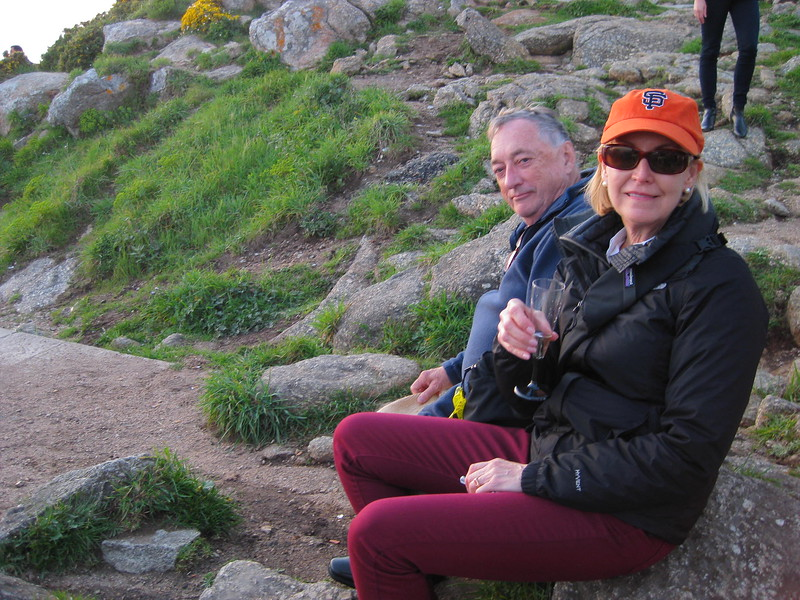 Bill and Vickie Sherman at Cape Finisterre - Johanna Frymoyer *12