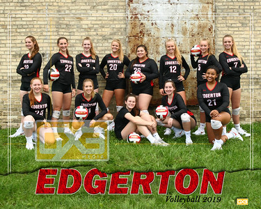 Edgerton volleyball VB19