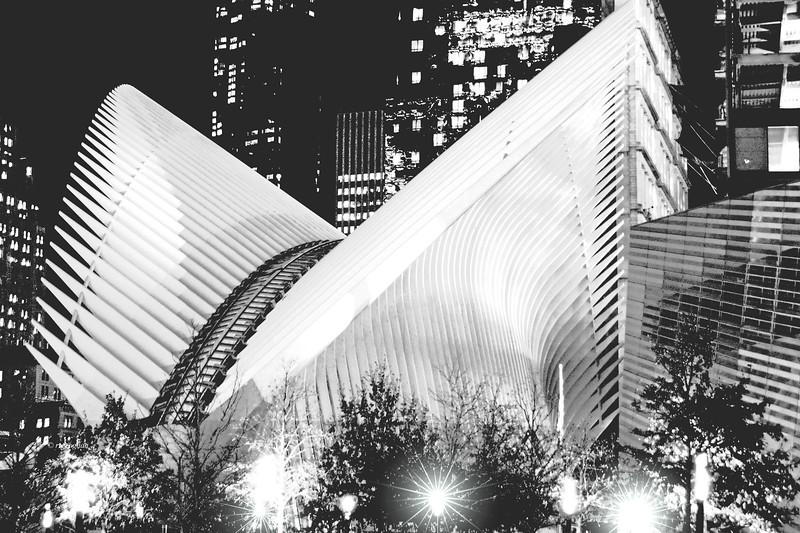 NYC World Trade Transportation Hub