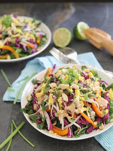 Vegan Thai recipes - Pad Thai Salad