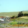View northbound from Piedras Blancas Hotel