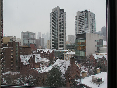 Jarvis Street in Winter