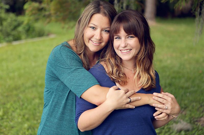 Katie and Nicole