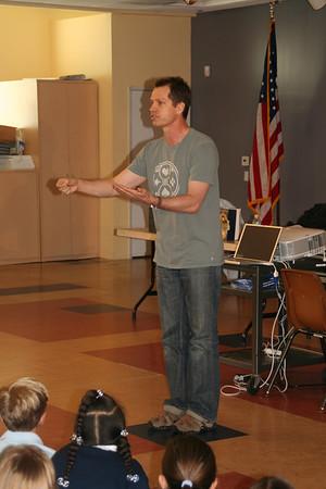 Grades 4-6 Author Visit 3-22-07