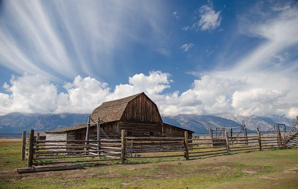 Mormon Row/Grand Teton Nat'l Park/WY - Sept., 2014