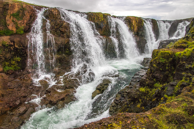 July 28 - Waterfall on the road going north to Akureyri, Iceland.jpg
