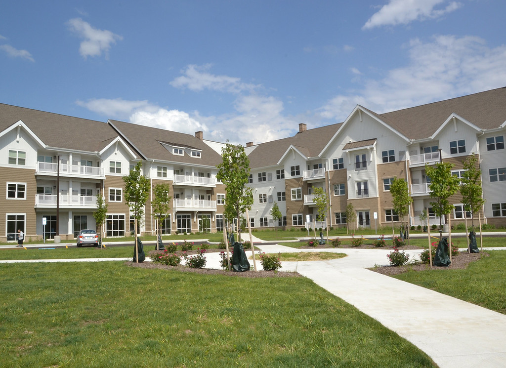 . Exterior view of the apartments at Notre Dame Village. Submitted