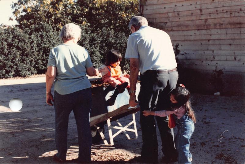 Ruben, Frankie, Josh, Alaya. Oct 1985