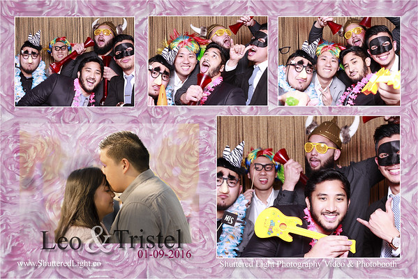 Leo and Tristel Wedding Photobooth