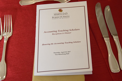 2017 Accounting Teaching Scholars UMD-Smith