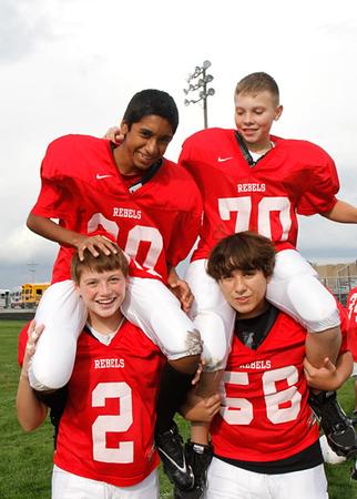 SNMS Football Team 2011