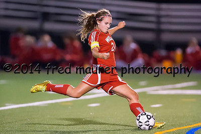 Wilson Girls vs Exeter 9/18/2014