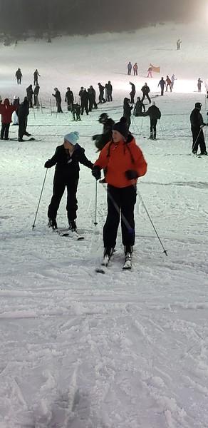 January Appalachian Mtn Skiing--Kam and Ray