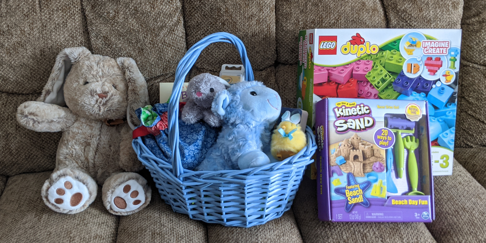 Easter Basket, April 12, 2020