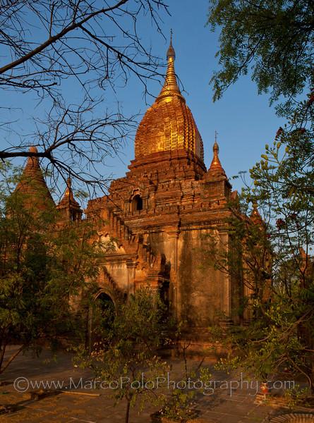 """Temples of Bagan. #4. 16"""" x 22"""""""