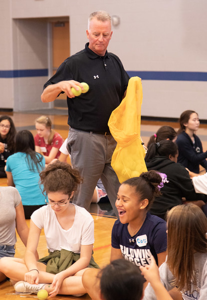 SEPTEMBER 14, 2018 - BRYN MAWR, PA -- Baldwin School 9th Grade Team Building, 5th Grade Archives lesson and Art Exhibit.  PHOTOS © 2018 Jay Gorodetzer -- Jay Gorodetzer Photography, www.JayGorodetzer.com