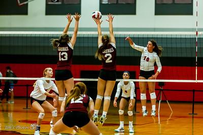 HS Sports - Sun Prairie Girls Volleyball [d] Sept 07, 2017