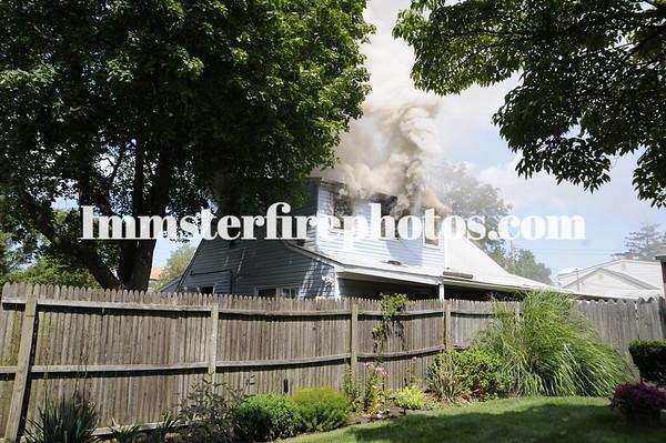 EAST MEADOW FD HOUSE FIRE OLD FARM RD  8-7-09