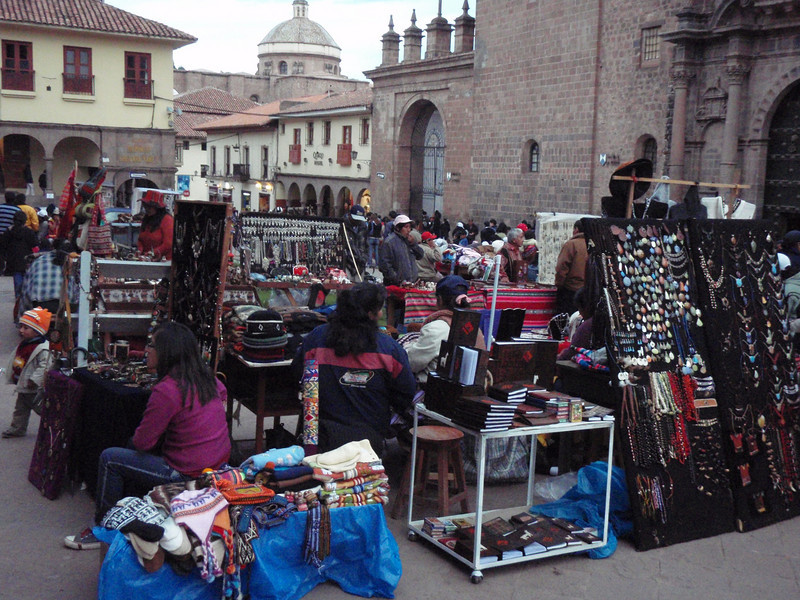 Everyone was trying to sell something in Cusco