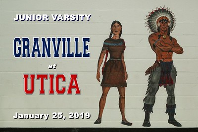 2019 JUNIOR VARSITY - Granville at Utica (01-25-19)