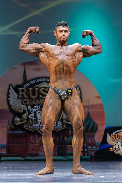 Bodybuilding Novice Middleweight