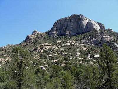 Granite Mountain Hike, 8-1-09