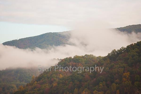 Clouds on Lynn Mountain 10-14-13