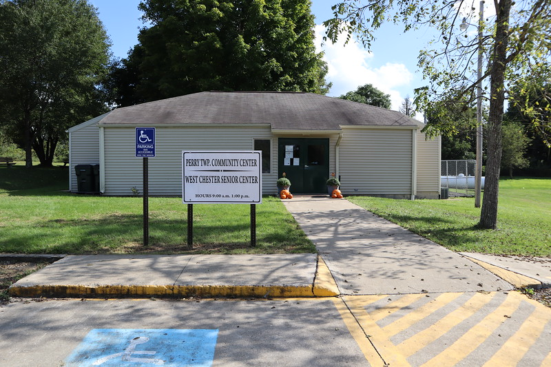 The Perry Township Community Center seems to serve as the township hall, too.